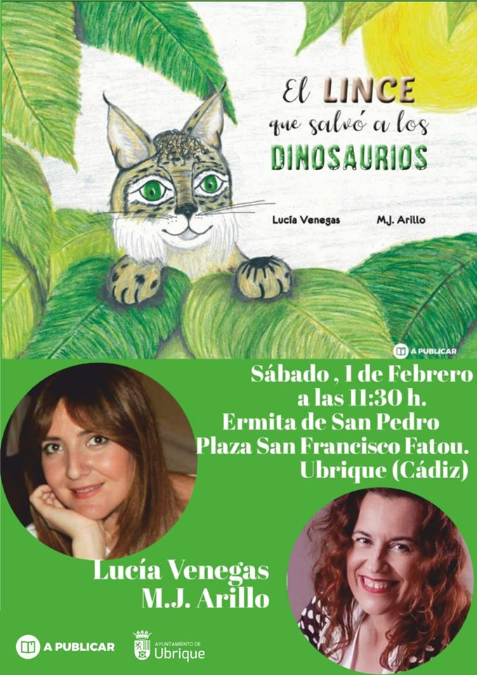 presentación Lucía Venegas y M.J Arillo